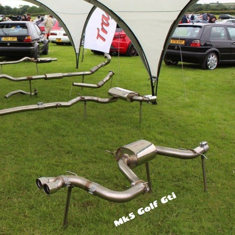 MK5 Golf Gti exhaust system